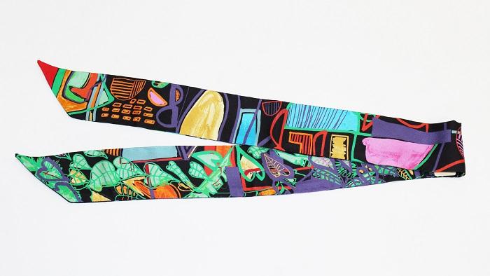 エルメス ツイリースカーフ シルク 062974S