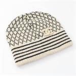 シャネル ニット帽 25000円