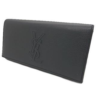 サンローラン ブラックレザー 長財布