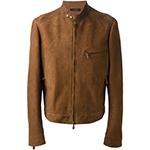 トムフォード ブラウン ライダースジャケット