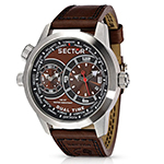 セクター アーバンオーバーサイズ デュアルタイム 時計