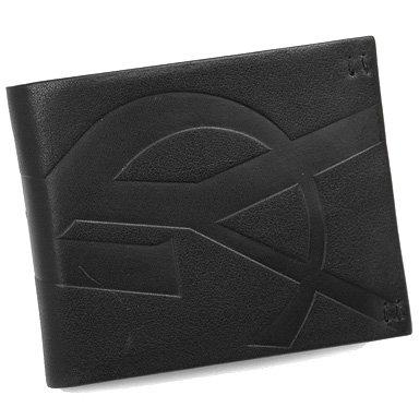サンローラン 二つ折り財布 ブラック