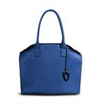 セゼール ブルー ハンドバッグ