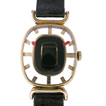 ジュベニア スケルトン 文字盤 時計