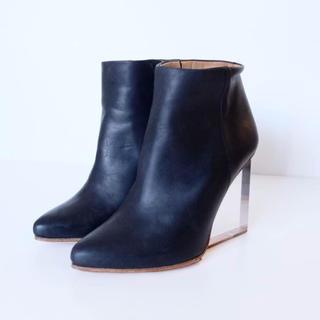 マルタンマルジェラ×H&M ブーツ