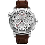 Bucherer Patravi Traveltec GMT Mens Watch
