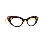 フランシスクライン  ブラウン 眼鏡フレーム