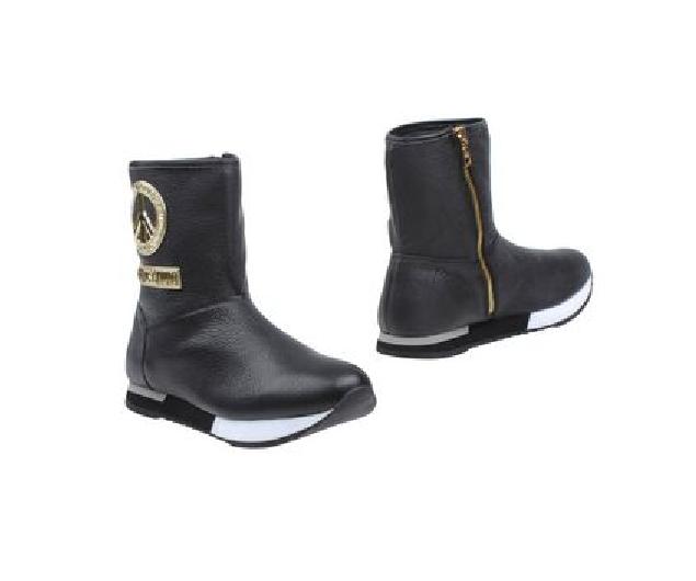 モスキーノ ジップデザイン ブーツ