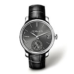 モーザー パーペチュアル ブラック 時計