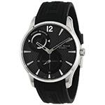 ルイ エラール  1931 ブラックダイヤル パワーリサーブ ラバー 時計