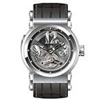 ヨルグイゼック  ステンレススチール オートマチック スケルトン 時計