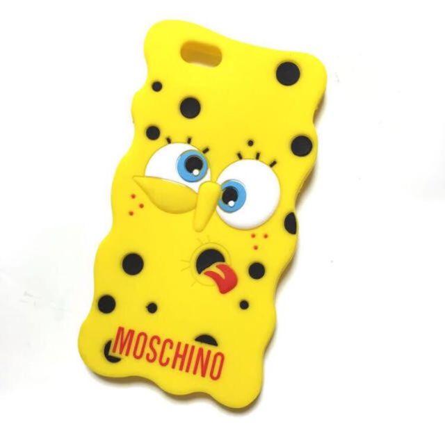 モスキーノ スポンジボブ iPhoneケース