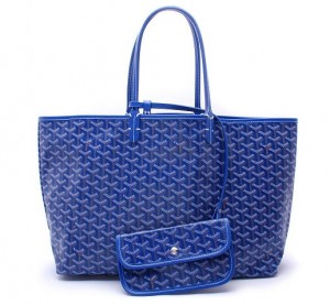 Goyard-Blue-Saint-Louis-PM-Bag