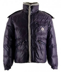 Moncler Branson down jacket navy