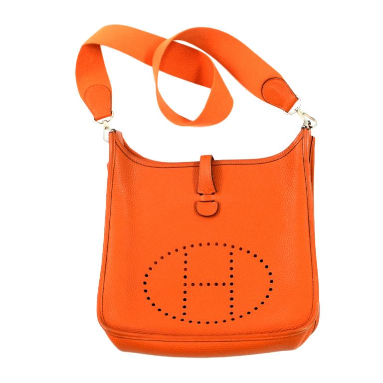 エルメス エブリン3 PM オレンジ ショルダーバッグ