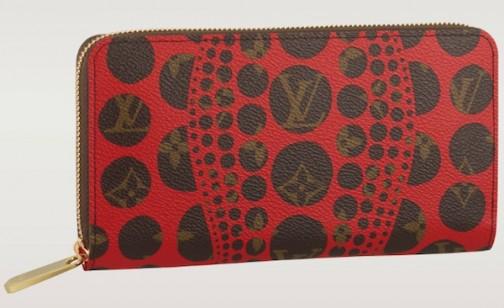 Louis-Vuitton-Red-Yayoi-Kusama-Zippy-Wallet-504x308