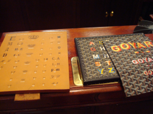 Goyard Fonts and Crowns Chiza