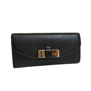 クロエ リリィ ブラック 長財布