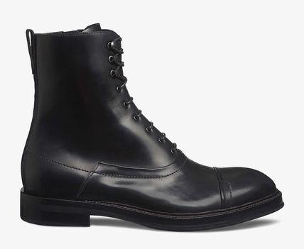 ベルルッティ レザー ブーツ ブラック