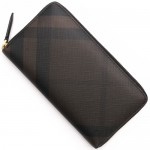 バーバリー チョコレートブラウン チェック 財布