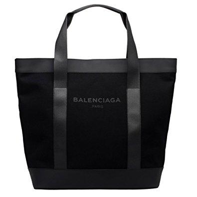 バレンシアガ トートバッグ キャンバス ブラック