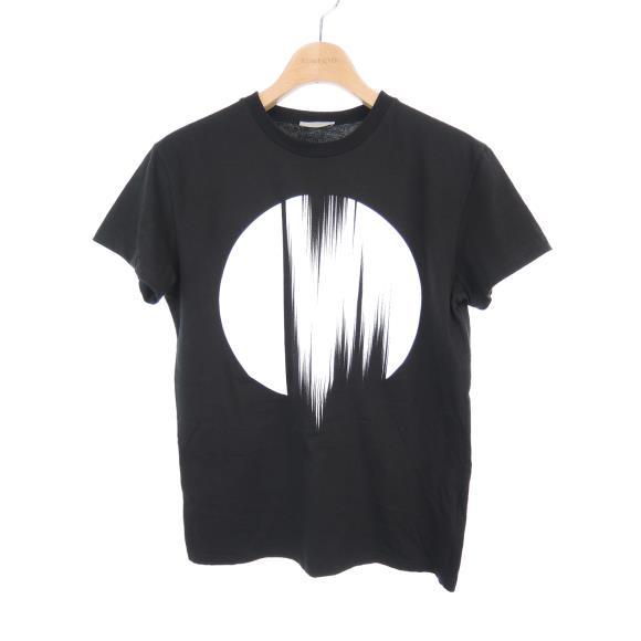 ディオールオム ブラック プリントTシャツ