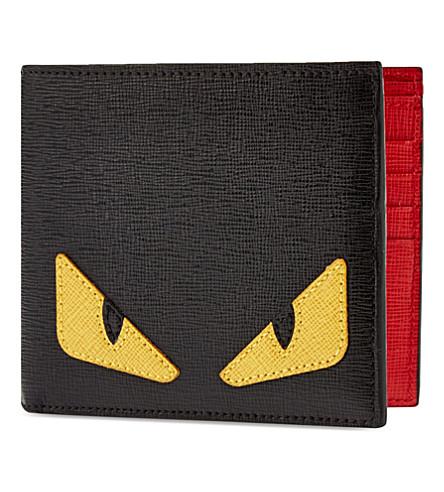 フェンディ モンスター 二つ折り財布