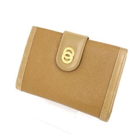 ブルガリ  ドッピオトンド二つ折り財布