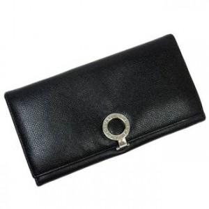 ブルガリ 長財布 ブラック
