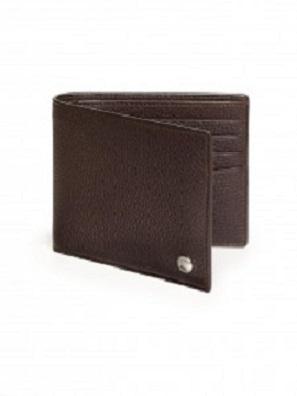 ダンヒル 二つ折り財布 レザー ブラウン
