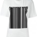 アレキサンダーワン バーコード Tシャツ