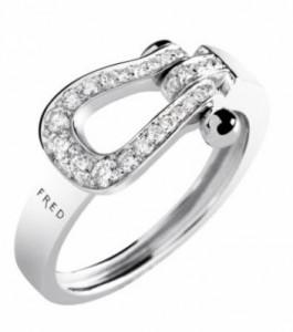FRED フレッド フォース10 ダイヤモンド リング