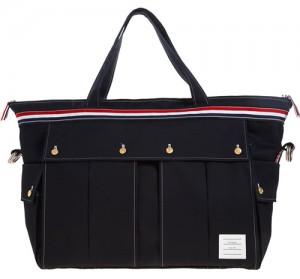 トムブラウンのキャンバスバッグ