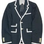 トムブラウン パイピングジャケット