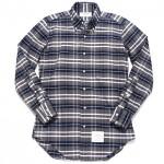 トムブラウン チェックシャツ