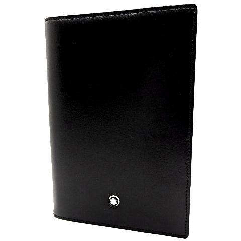 モンブラン カーフ パスポートケース ブラック