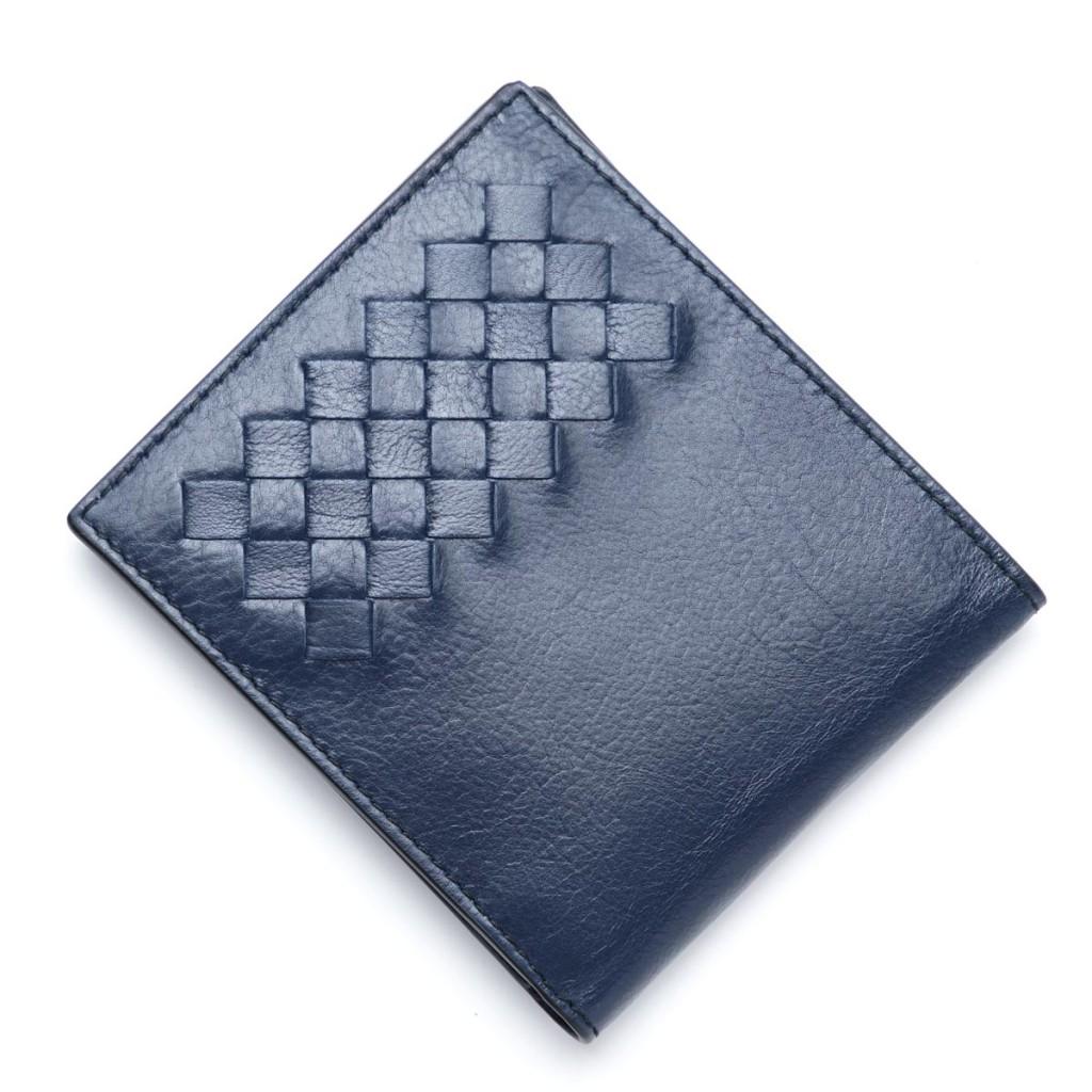 ボッテガヴェネタ 二つ折り財布 ブラック