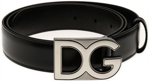 D&G_ロゴプレートベルト