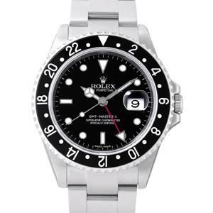 ロレックス GMTマスターⅡ 黒ベゼル 16710
